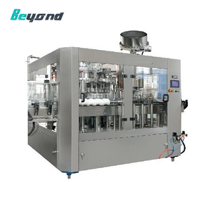pepsi sparkling water filling machine for soda pop production line