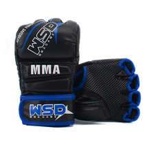 PU de Couro <span class=keywords><strong>Luvas</strong></span> de Boxe <span class=keywords><strong>MMA</strong></span> UFC Sparring <span class=keywords><strong>Grappling</strong></span> Luta Soco Mitts Training Glove