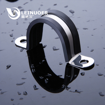 Electrical Wiring Accessory U Type Black Stainless Steel Hose Clamp With  Epdm Rubber - Buy Hose Clamp,Stainless Steel Hose Clamp,Stainless Steel  Hose