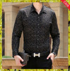 2015 new design slim fit men fashion casual shirts