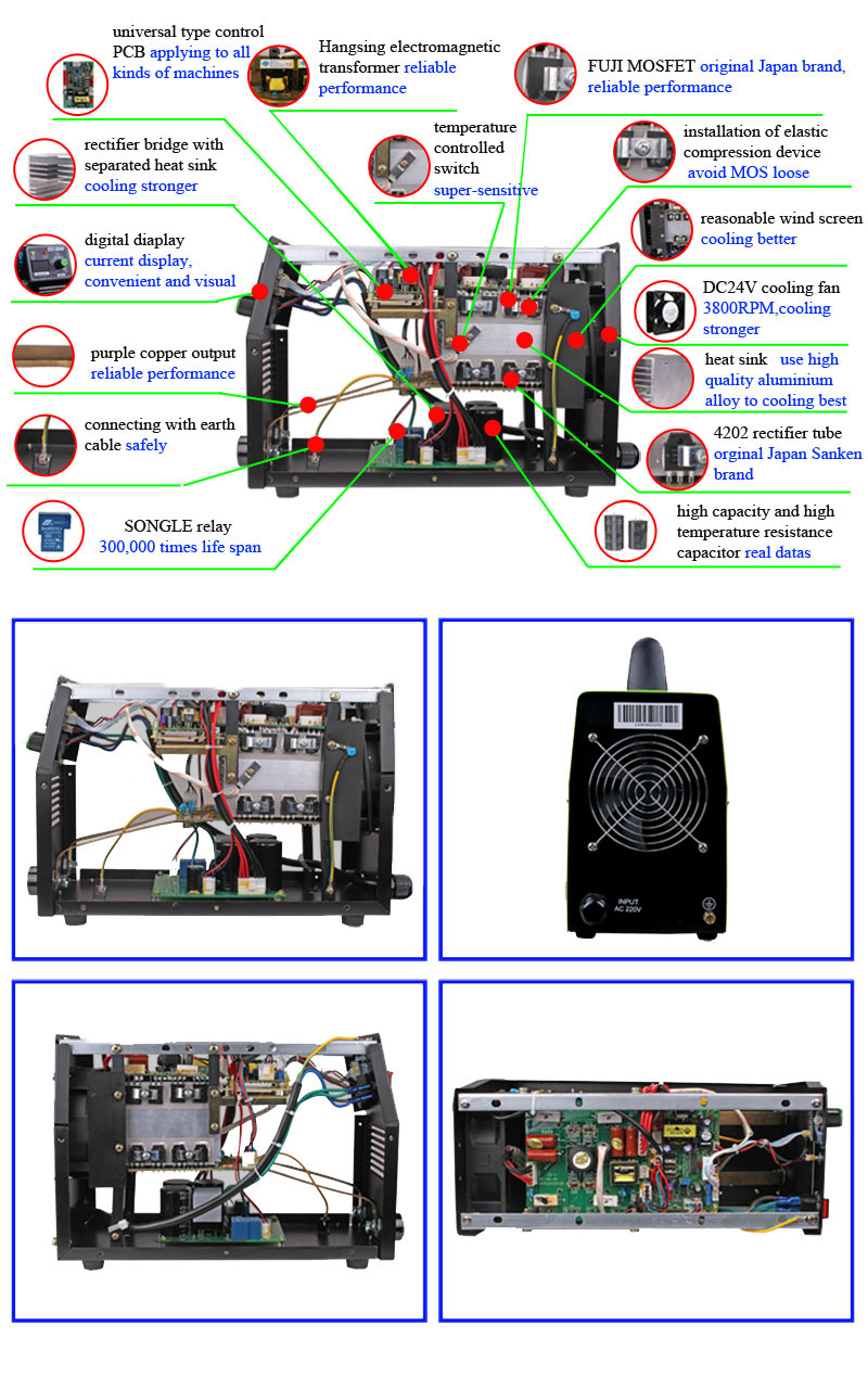 Engineers Available To Service Machinery Provided Arc Inverter Welding  Machine Circuit Board Mma200 Igbt/mosfet - Buy Arc Inverter Welding Machine
