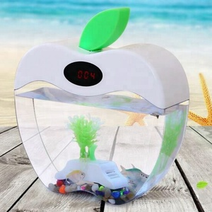 UCHOME Apple Acrylic USB Mini Desktop Fish Tank Aquarium
