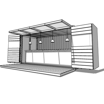 Move-in Strong Steel Frame Shipping Container Homes/container House ...