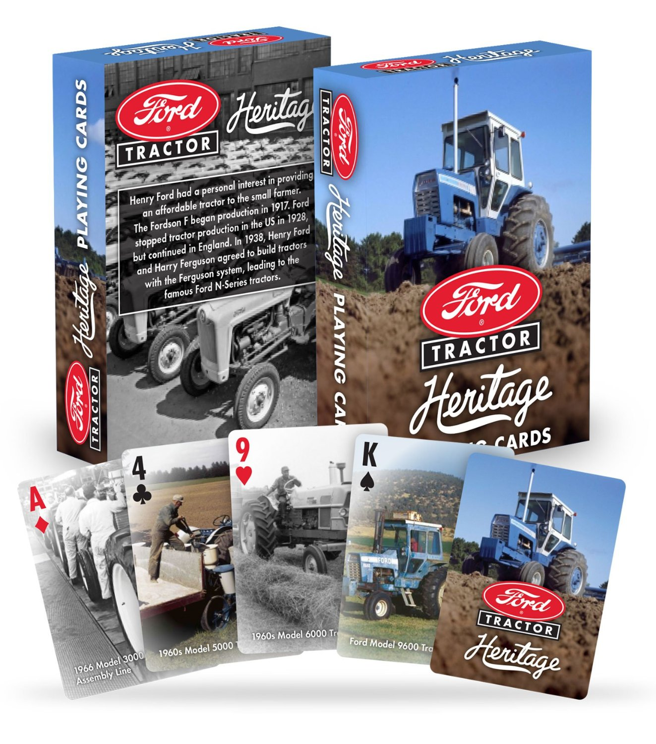 Get Quotations · Licensed Ford Tractor Playing Cards