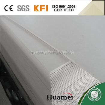 Moisture Resistance Sheetrock Drywall Board For Srilanka Interior Decoration
