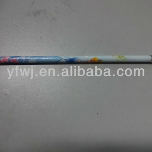 Heat transfer student and office use hexagonal HB pencil with eraser