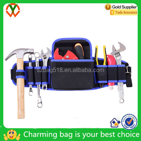 Flashlight, Keys, scaffolding,Electrician Tool Belt Suspenders Pouch