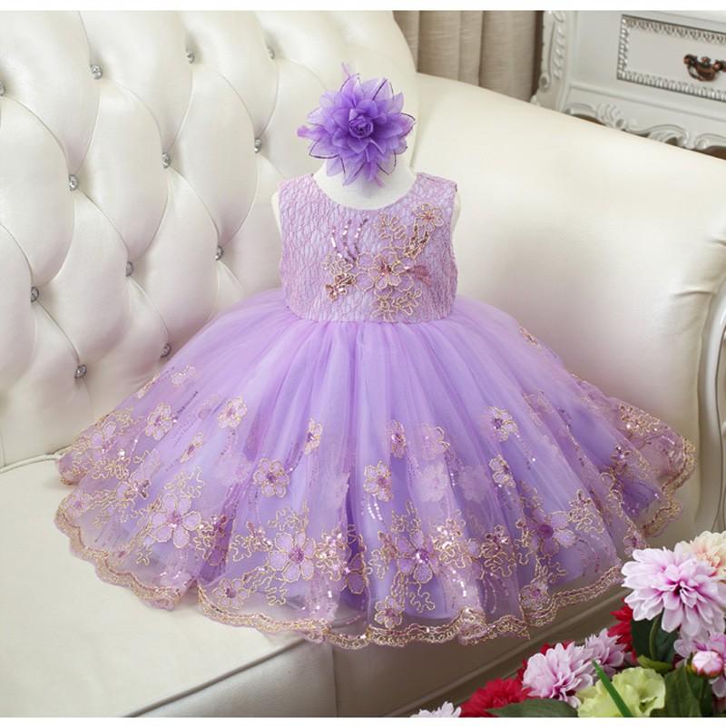 2016 Niñas Lentejuelas Vestido Tulle Tutu Ball Gown Princesa ...