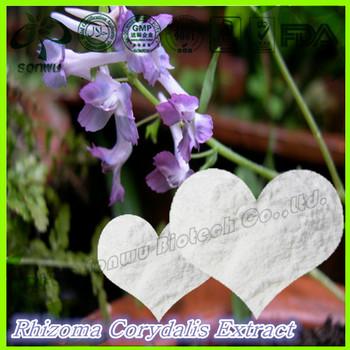 Natural corydalis yanhusuo extract /Rhizoma Corydalis Extract/tetrahydropalmatine 98%
