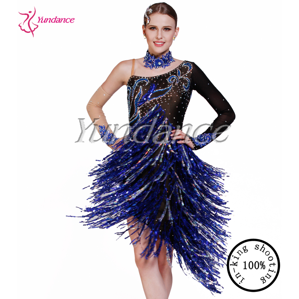 women latin dresses for performance competition L-1330