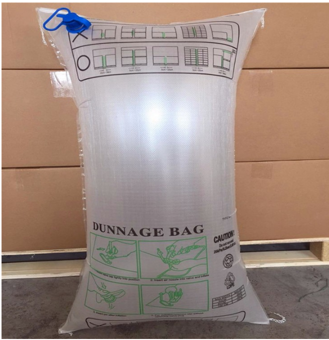 PE/PA/PE Seismic inflatable bag Air Dunnage Bag for Protect Cargoes