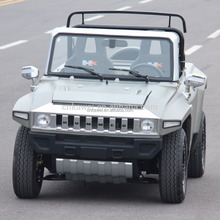 Luxury Electric Car Hummer With Low Speed