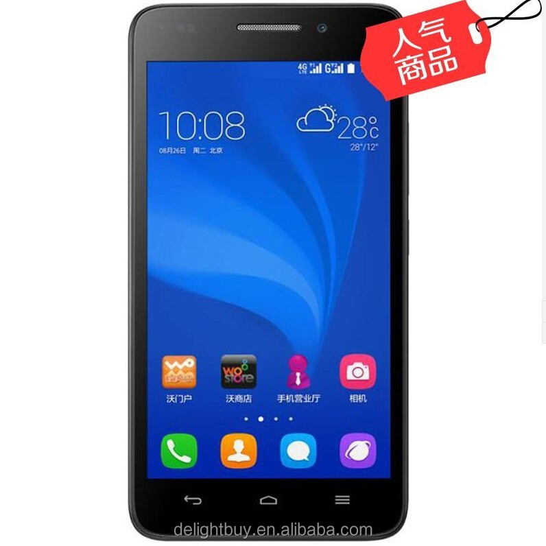 Original Huawei Honor 4 Play FDD LTE 4G 3G Mobile Phone Android 4.4 Qualcomm Quad Core 5.0 Inch 1280*720P 8.0MP Dual Card