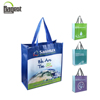 100% Full Custom Printed Reusable PP Liminated Non Woven Tote Bag