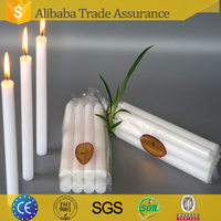 Chinese Candles distributor export 58gram Household White candles for congo market