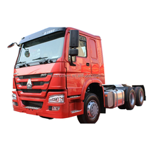 Euro 2 , Left Hand Drive Sinotruk Howo A7 336 HP 6 x 4 Tractor truck prime mover truck head for sale
