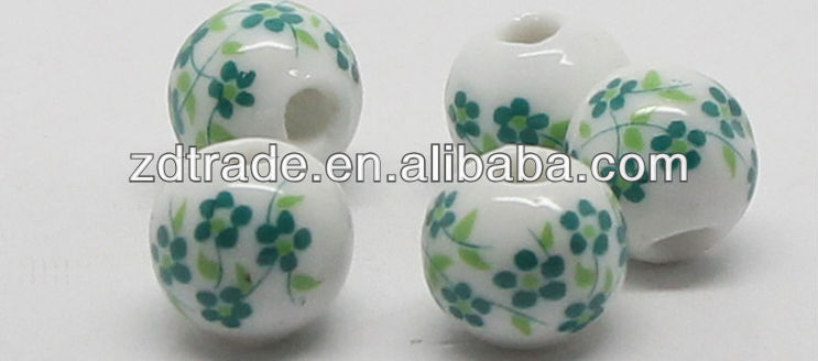 China Porcelain Beads with Lowest price and Best quality