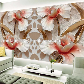 3d Flower Embossed Wallpaper Relief Wall Mural For Home Wall Decoration Buy Embossed Wallpaper Mural Wallpaper 3d Wall Mural Photo Wallpaper Product