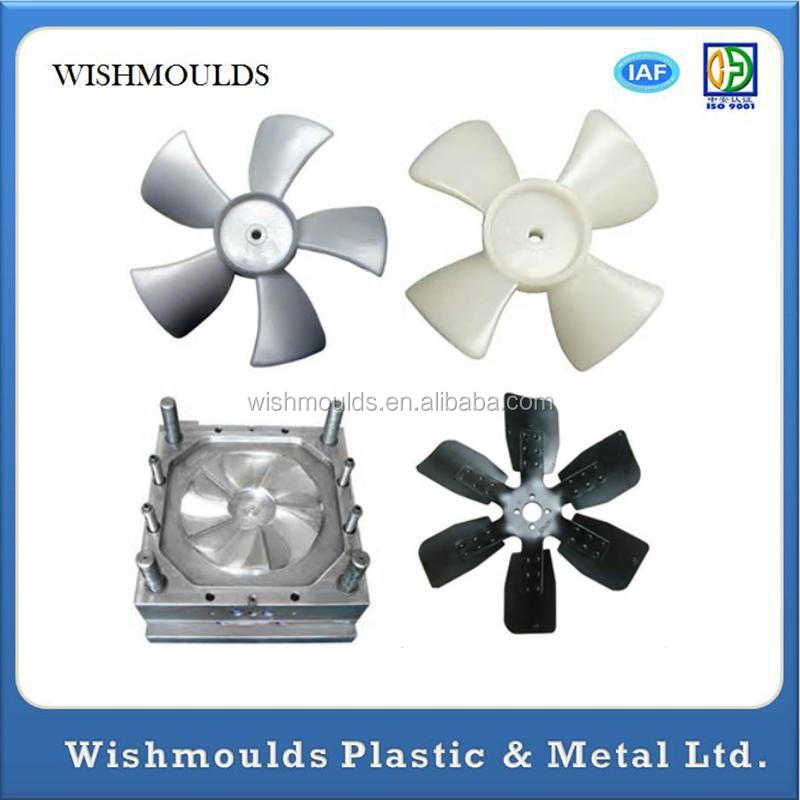 China OEM customized fan blade for electric fan plastic fan blade mould manufacturer plastic production