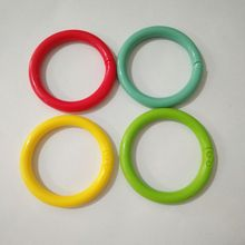 Plastic open snap ring