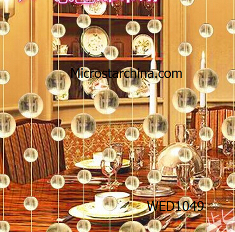 2015 Fashion Glass Crystal beads curtain Window/Door/Kitchen hanging curtain wedding