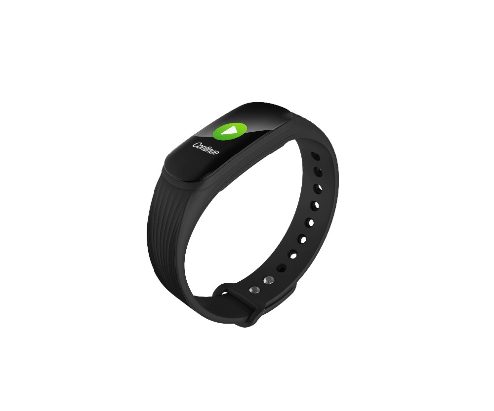 0.96 Oled Color Screen Men Smart band with Heart Rate and Blood Pressure Caculater