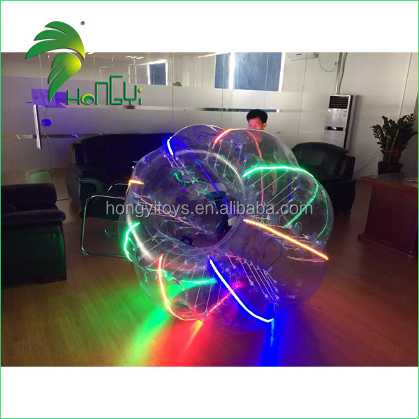 Attracting Execting Design Human Inflatable Outdoor Adult Light Bumper Ball