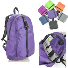 Hot sale guangzhou factory supply sports foldable backpack