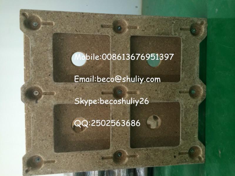 Wood Tray Hot Press Machine Sawdust Pallet Molding Machine
