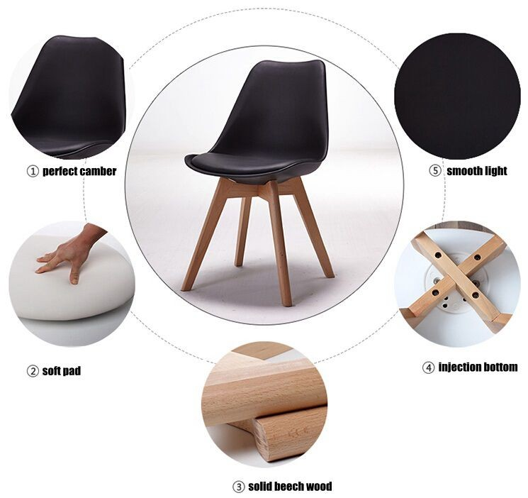 Wondrous Hot Selling Price List Plastic Cushion Seat Tulip Side Lounge Chair T826 Buy Hot Selling Dining Chair Plastic Cushion Seat Tulip Side Lounge Chair Creativecarmelina Interior Chair Design Creativecarmelinacom