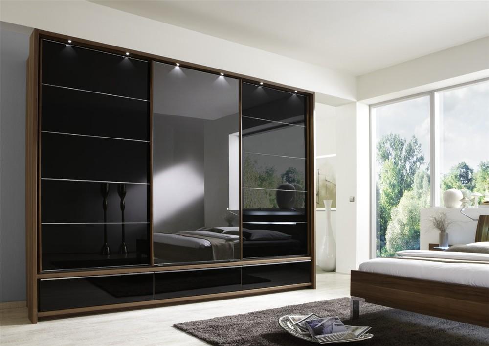 Modern Black Mirrored Armoire Wardrobe Bedroom Furniture Bedroom - Buy  Modern Design Bedroom Furniture Wardrobe,Mirrored Wardrobe  Bedroom,Furniture ...