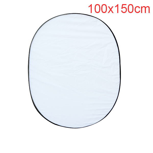5 in 1 Multi Photo Collapsible Light Reflector Oval 100 x 150cm/40 x 60 inch for Photography Studio Photo Flash Lighting