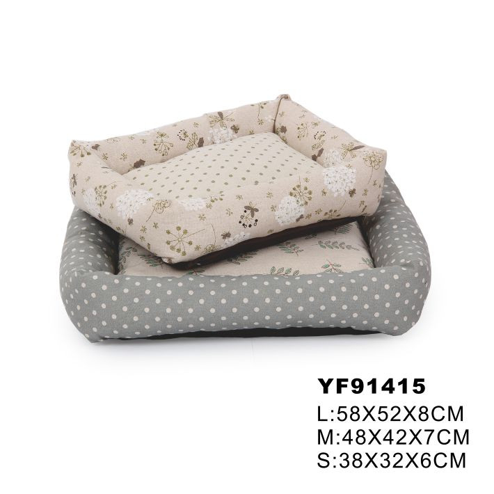 Soft And Removeable Custom Indoor Dog Bed Luxury