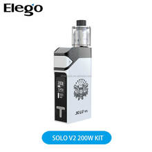 Elego Stock Offer IJOY SOLO V2 200W KIT With 200W Firmware Upgradeable IJOY SOLO V2 Mod