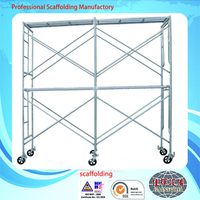 Steel Frame Scaffolding Tower Can Be Move