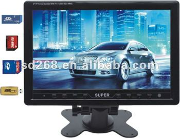 NEW 9quot Car Lcd TV Monitor With
