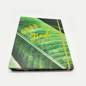 A4 paper type custom recycled 5 subject notebook