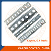 0076 steel zinc plated Logistics cargo track
