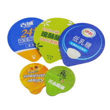 High Quality Die Cut Yogurt Cup Aluminum Foil Cover