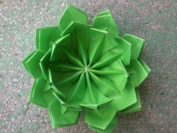 Verde Origami Flor De Loto Buy Flor De Loto Origami Product On