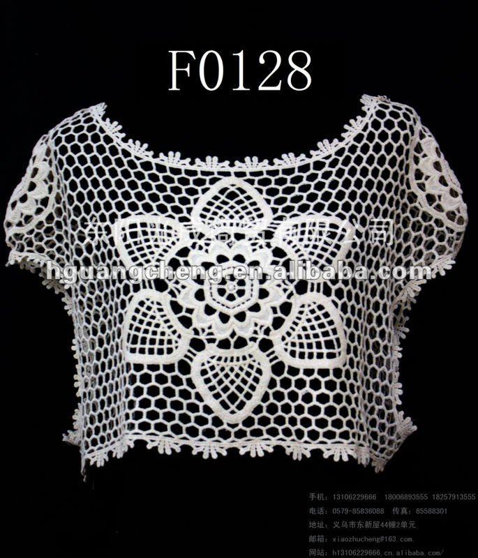 Verano Crochet Encaje Top Patrones Gratis - Buy Verano Crochet Mesh ...