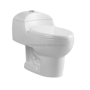 China bathroom sanitary ware one piece siphonic color toilet brown