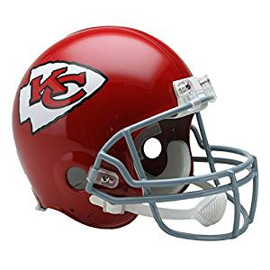 Kansas City Chiefs 63-73 Officially Licensed Authentic Throwback Football Helmet