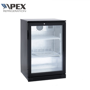 Hotel Glass Door Mini Bar Fridge Commercial Display Refrigerator Directly Cooling Mini Fridge