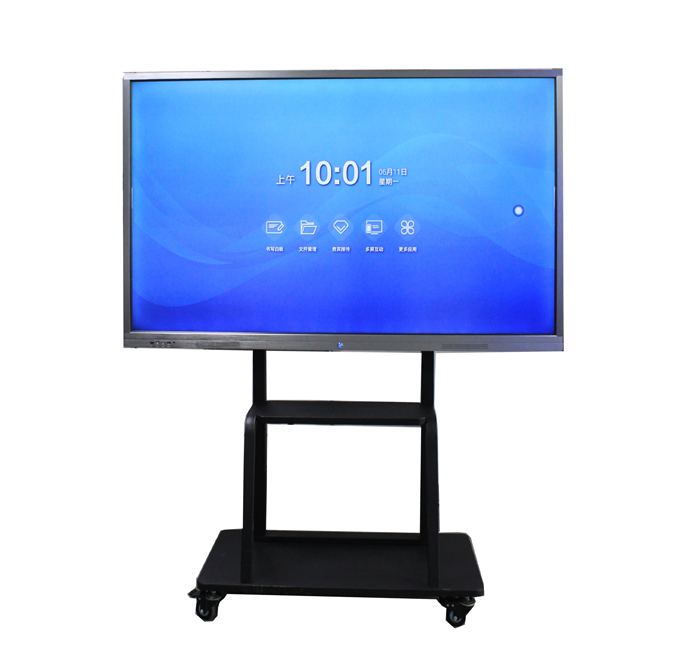 65 inch Aluminium Touch Screen Monitoren Rohs Gecertificeerd Interactieve Elektronische Whiteboard