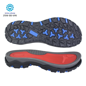 Fashion Durable Quality Men Women Outdoor Thick EVA MD TPR Sandal Sole