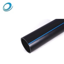 Construction used black color 150mm hdpe pipe factory supply