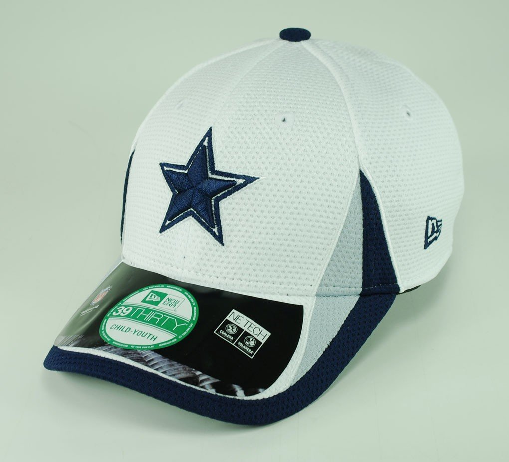 65ee094dd60e8 Get Quotations · New Era Youth Dallas Cowboys 2013 Training Camp 39Thirty  Cap