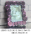 Colorful Mirror Glass Photo Frame