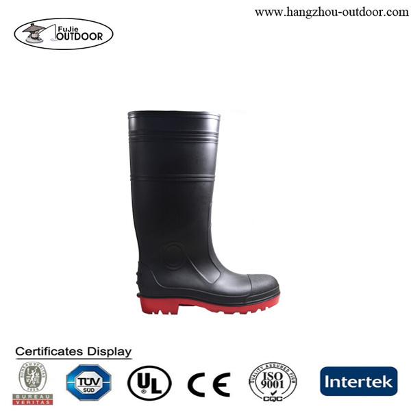 Clear Rain Boots,Pvc Gun Rain Boot,Mining Pvc Boots For Men